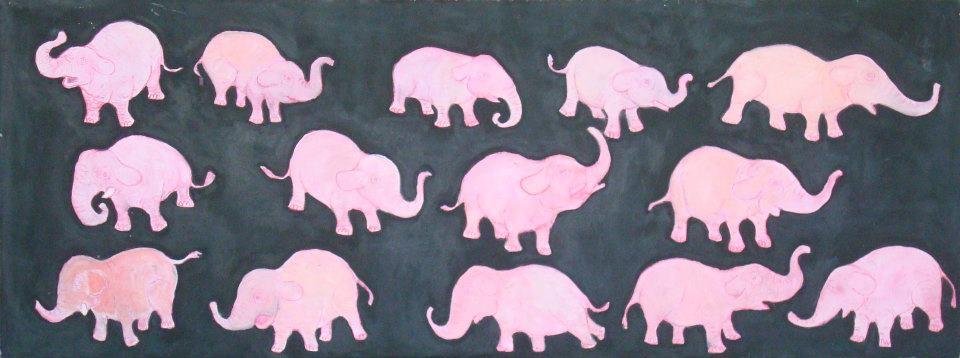 Elefanti rosa